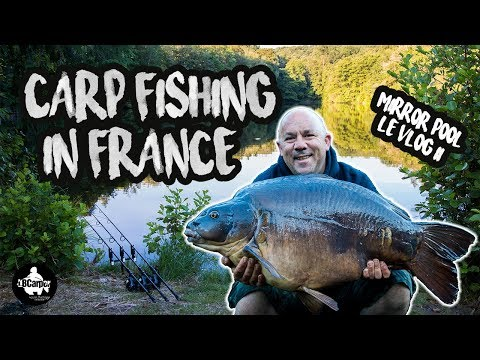 CARP FISHING IN FRANCE MIRROR POOL LÉ VLOG 2