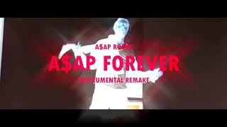 A$AP Forever - A$AP Rocky ft. Moby (Instrumental Remake)