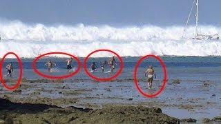 TOP 3 Tsunami Caught On Camera  | Biggest Tsunami in the world