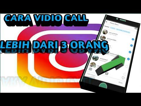 Cara Vidio Call Lebih Dari 3 Orang Di Instagram