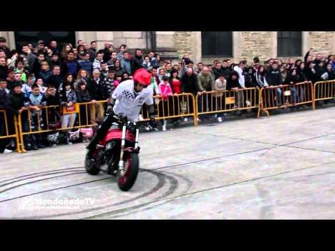 Helio Pereira y Jaque Stunt Exhibición en Ruta N634