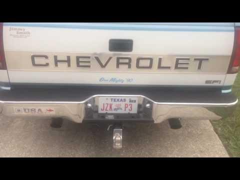 1990 Chevy truck 350 Flowmaster Super 10
