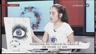 Iarina Slobozeanu, Pictoriţa în Vârstă De Doar 12 Ani @Generaţia Lui John