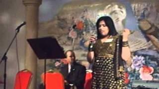 Ann Chops singing - chithi na koi sandesh