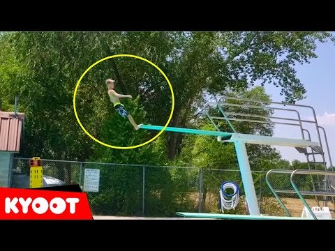 Biggest Belly Flop Ever ouch And More Funny Water Fails