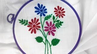 Hand Embroidery - Wine Stitch