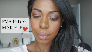 HOW TO - EVERYDAY MAKEUP TUTORIAL | Dominique Of Style Domination