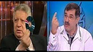 مرتضى منصور يجن جنونه بعد وصف علاء صادق له بالجزمة ملك التعريض