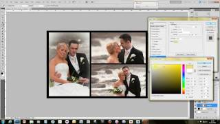 Make a storybook Wedding page template using Adobe Photoshop