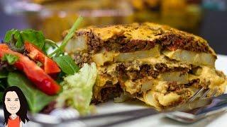Lasagne Style Potato Bake - Vegan Recipe!