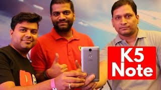 Hindi | Lenovo K5 Note Hands on Overview by GTS | Sharmaji Technical