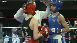 Patrick Hewitt V Abdul Khan 48kg NWR Junior  Final 2018