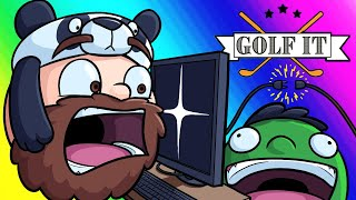 Golf-it Funny Moments - Nogla Sabotages the Whole Game!
