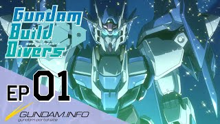 Gundam Build Divers-Episode 1: Welcome to GBN (EN,TW,KR,FR,IT,TH sub)