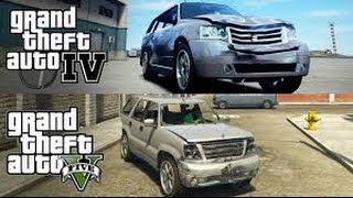 فرق الواقعيه gta 5 vs gta iv