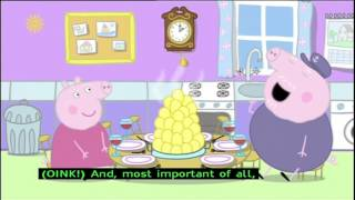 Peppa Pig (Series 2) - Traffic Jam (with subtitles)