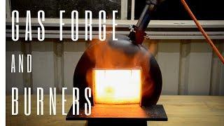 Building a Blacksmithing Gas Bottle Propane Forge & Burners
