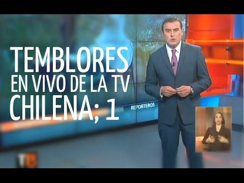 Temblores en vivo de la tv chilena Parte 1 act 2013