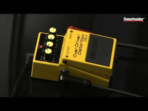 BOSS OS 2 Overdrive Distortion Pedal Review by Sweetwater Sound