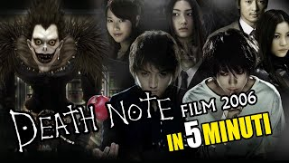 Death Note - film 2006 in 5 minuti!