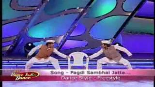 Lux Dance India Dance Season 1 Ep.26 - Jai Kumar Nair & Siddesh