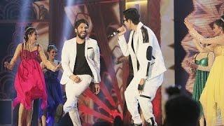 Allu Arjun and Anirudh Performance in SIIMA 2016