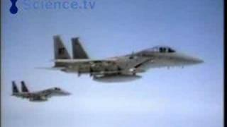 F15 and F16 fighter jets in action
