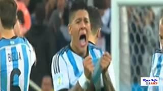 ضربات الجزاء مباراة الارجنتين 4-2 هولندا /09 -07- 2014  تعليق عصام الشوالي