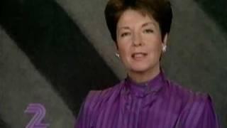 TV2-hallåa Amelie Appelin 1984-12-28