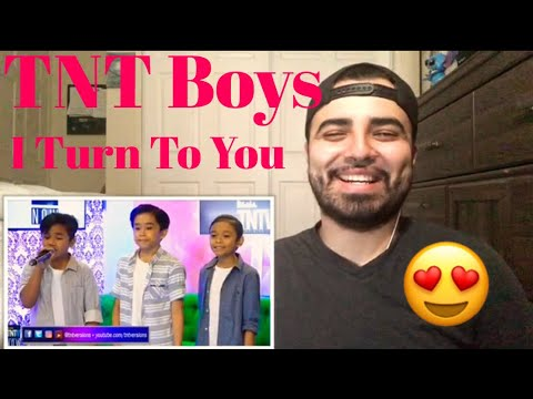 Reaction TNT Boys with Sam Singing I Turn To You Part 2