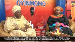 OYINMOMO - Interview with  MADAM SAJE (Throwback)