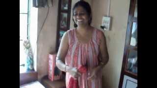 Savita Bhavi After Bathing........