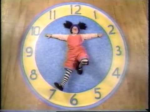 The Big Comfy Couch Clock Stretch