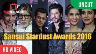 Sansui Colors STARDUST AWARDS 2017 | Salman, Aishwarya, Shahrukh, Kajol, Lulia Vantur, Priyanka