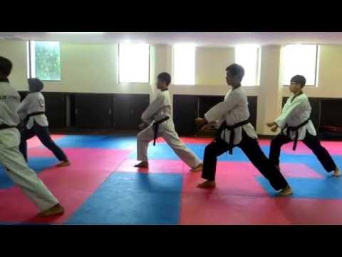 Xxx Mp4 Belajar Poomsae Taekwondo Taegeuk 7 Step By Step 3gp Sex