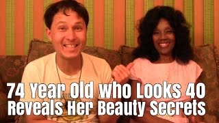 74 Year Old who looks 40 Reveals Her Beauty Secrets that Make You Look & Feel Younger