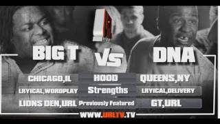 SMACK/ URL Presents BIG T vs DNA | URLTV