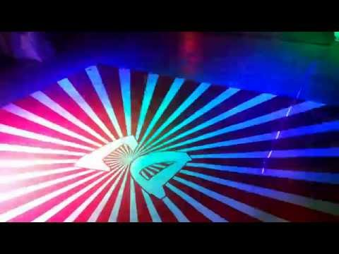 DJ Dance floor with blue n red light effect by dg event .in