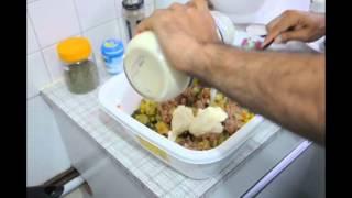 طرز تهیه سالاد ماکارونی (پاستا)