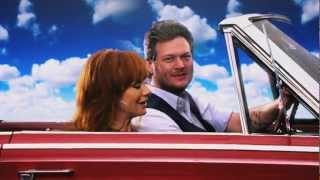 Reba and Blake - ACM Awards Promo - Off to Vegas!