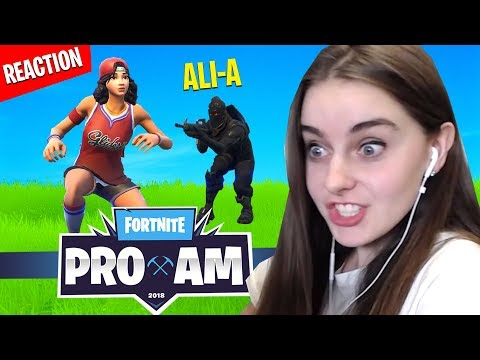 Xxx Mp4 Killed By AliA In Fortnite PRO AM Charity Match REACTION 3gp Sex