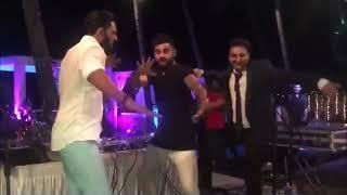 Virat Kohli's funny dance in bhuvi marriage