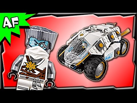Lego Ninjago TITANIUM NINJA TUMBLER 70588 Stop Motion Build Review