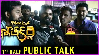 Gautamiputra Satakarni Movie Review - Public Talk | First Half | Fans Reaction