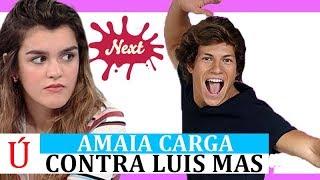 Amaia Romero carga por sorpresa contra Luis Mas de Operación Triunfo 2018