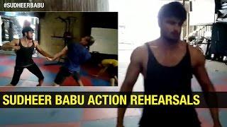 My Practice for Baaghi Hindi Movie Action Scene | Sudheer Babu