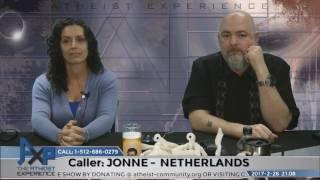 Donald Trump is Prophesied? | Jonne - Netherlands | Atheist Experience 21.08