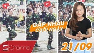 #GNCN 21/9: Hải Yến nhập ngũ cùng Sơn Tùng MTP | Hà Nội có tuyết rơi!