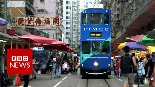 Hong Kong artist photographs city