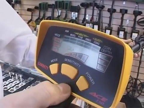 Металлоискатель Garrett ACE 150, видео обзор